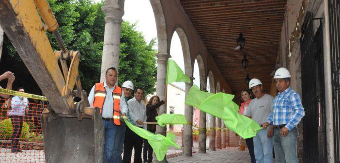 centro historico de Yuriria