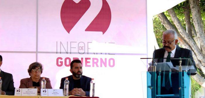 Segundo Informe de Resultados de Gobierno del Ayuntamiento 2015-2018 de Uriangato