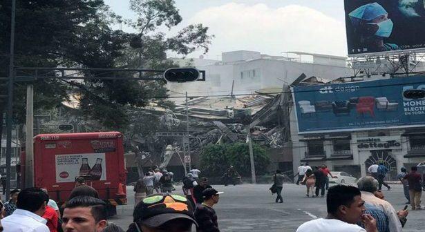 Sismo de 7.1 grados  deja varias afectaciones en estados del país