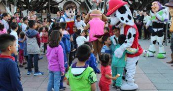 Celebran a los niños Uriangatenses en el Día de Reyes