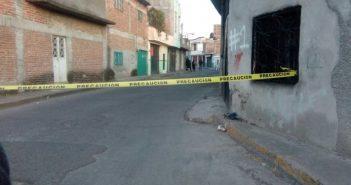asesinato calle Prado Uriangato