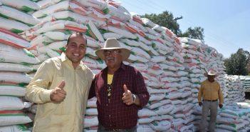 Entrega de fertilizante
