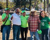 Tanao visitó el fin de semana la colonia Plan de Ayala y las comunidades de La Cinta, el Derramadero y Rancho del Cerro