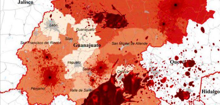 Cuatro de las 10 ciudades más violentas del País están en Guanajuato