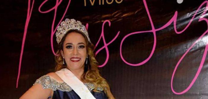 "Uriangatense gana certamen de ""Miss Plus Size 2018"""