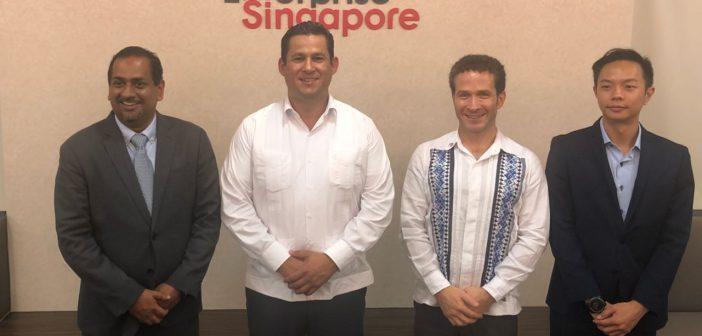 Diego Sinhue gobernador electo de Guanajuato visita Singapur y China