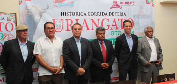 CORRIDA DE TOROS URIANGATO