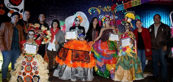 catrinas vivientes Uriangato