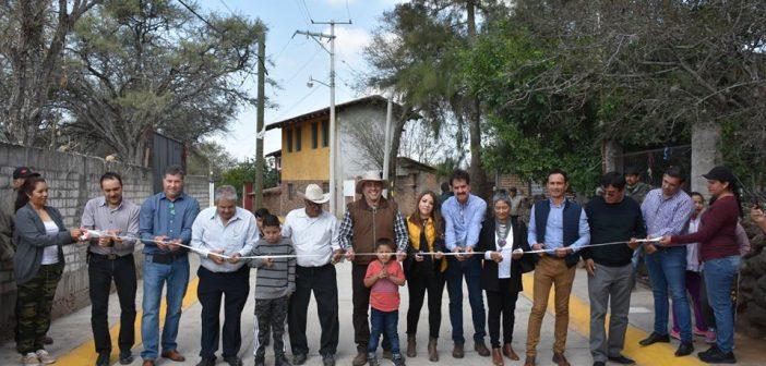 Pavimentación calle Vicente Guerrero 2da. etapa en Cepio