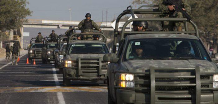 Llegan a Guanajuato 1 mil 600 elementos del Ejército