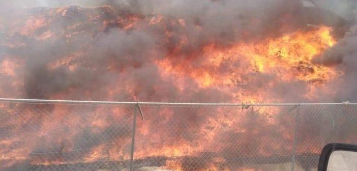 Rellenos sanitarios de Valle de Santiago y Celaya se incendian