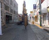 Inicia obra de pavimentación en calle Guadalupe Victoria