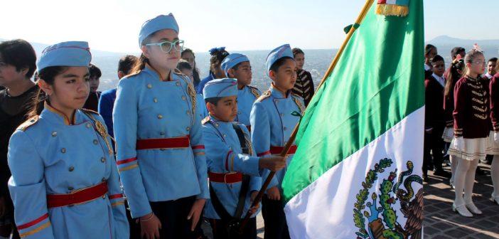 Conmemoración por el Día de la Bandera