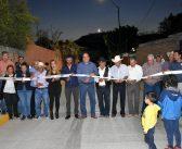 Pavimentación y alumbrado público de calle Porfirio Zamudio en Cepio