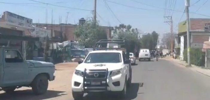 Sujetos armados asesinan a dos custodios de Cereso de Valle de Santiago