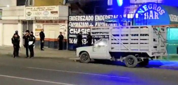 Ataque a bar deja 4 muertos y 5 heridos en Celaya