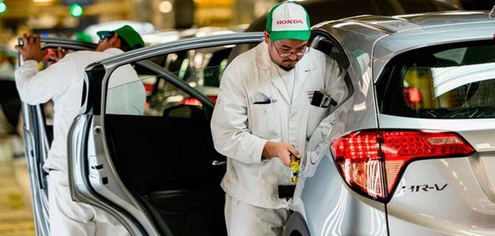 Honda suspenderá labores en planta de Celaya