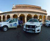 Entregan nuevas patrullas a Seguridad Pública de Moroleón