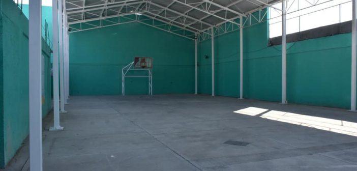 Nuevo techado en la Secundaria Estatal J. Jesús López