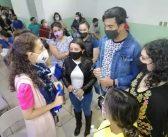 Grecia Pantoja candidata del PAN, escucha las necesidades de los moroleones
