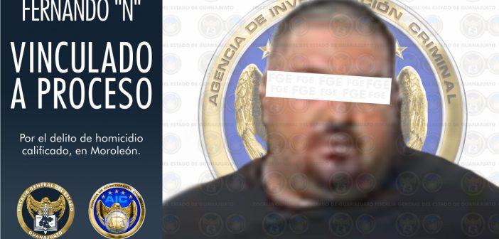 """Vinculan a proceso a Fernando """"N"""", por el homicidio de la candidata de Movimiento Ciudadano de Moroleón"""