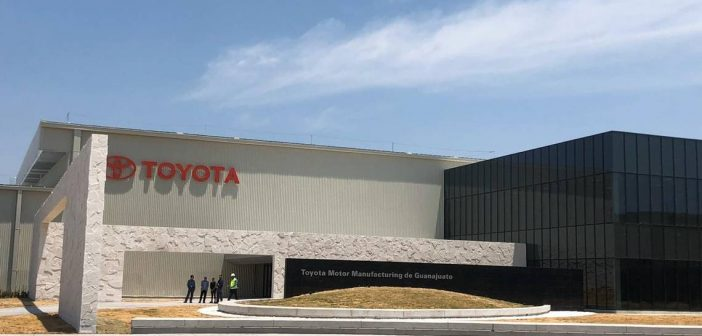 Armadora Toyota tendrá paro de actividades en Apaseo el Grande